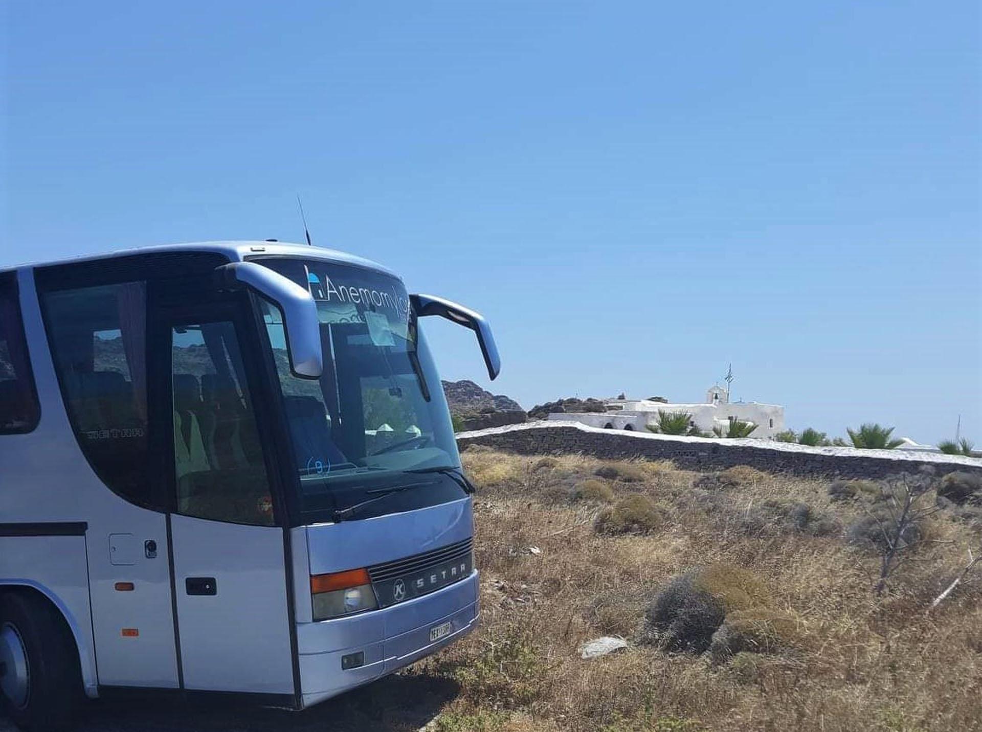 Paros Bus Tours